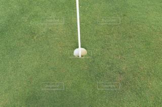 ゴルフピンの写真・画像素材[2330477]