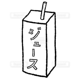 紙パックジュースの写真・画像素材[2340217]