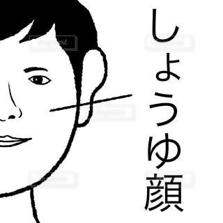 しょうゆ顔の写真・画像素材[2416254]