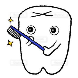 歯みがきの写真・画像素材[2443431]