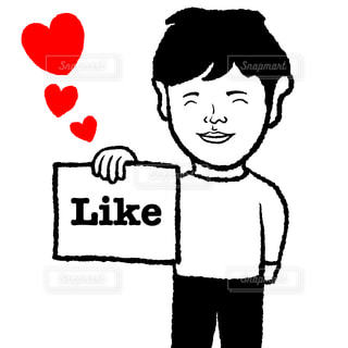 likeの写真・画像素材[2489318]