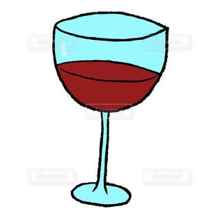 ワイングラスの写真・画像素材[2491092]