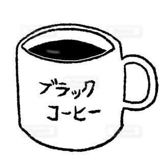 ブラックコーヒーの写真・画像素材[2662156]