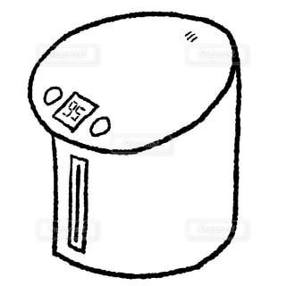 電気ポットの写真・画像素材[2730782]