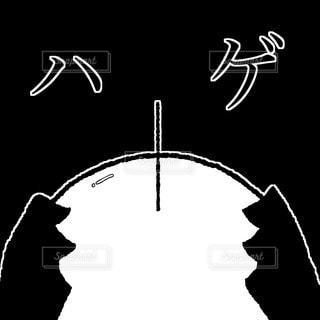 ハゲの写真・画像素材[2844515]