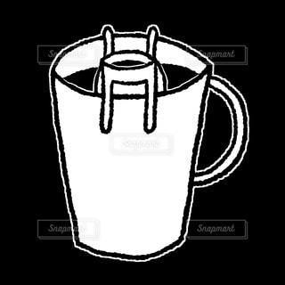 ドリップコーヒーの写真・画像素材[2887414]