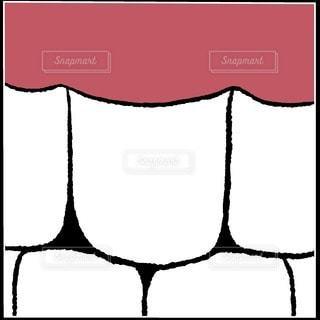 白い歯の写真・画像素材[2897111]