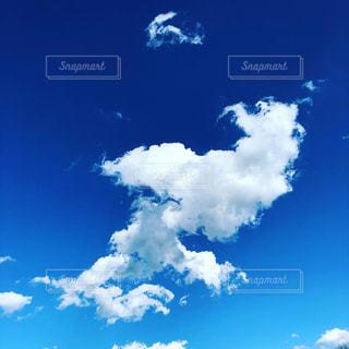 青空と雲の写真・画像素材[3012212]