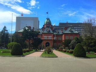北海道庁旧本庁舎。正面からの1枚。の写真・画像素材[1157864]