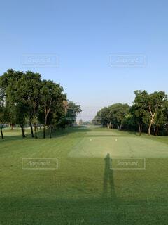ゴルフ場の写真・画像素材[3694996]