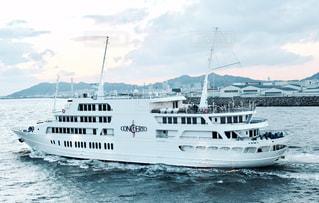 水体の大型船の写真・画像素材[1088823]
