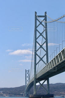 海の上の橋の写真・画像素材[1107923]