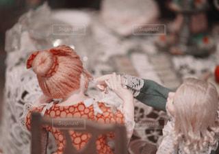 戯れる女の子の写真・画像素材[1108046]