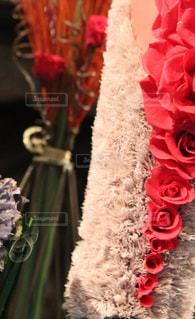 近くの花のアップの写真・画像素材[1108064]