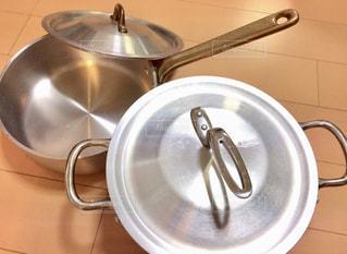鍋とフライパンの写真・画像素材[1399990]