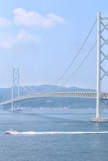 舞子ヴィラからの明石海峡大橋の写真・画像素材[1419528]