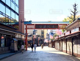 街の通りの写真・画像素材[3138703]