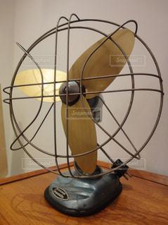 昔の扇風機の写真・画像素材[797718]