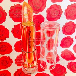 テーブルにガラスの瓶のグループ - No.712011
