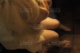 彼女の歯を磨く女性の写真・画像素材[956169]