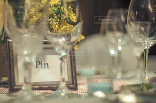 ワインのガラスの写真・画像素材[1139287]