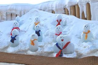 雪だるまさんたち - No.1089796