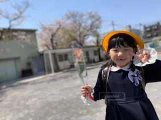 ピカピカの一年生の写真・画像素材[3168029]