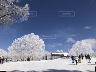 雪山の写真・画像素材[381111]