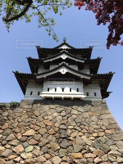 aomori,弘前城の写真・画像素材[380928]