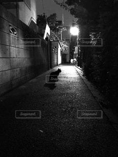 歩道を歩いて男 - No.728763