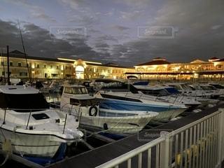 海外風の港の写真・画像素材[2691718]