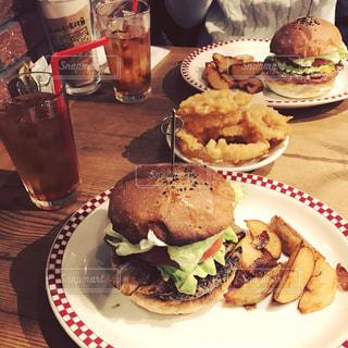ハンバーガーの写真・画像素材[382927]