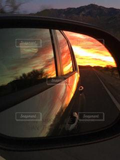 夕日の写真・画像素材[383428]