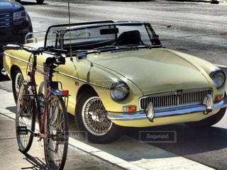 自転車の写真・画像素材[384495]