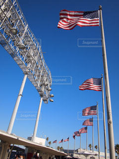 空,スポーツ,青空,晴天,アメリカ,国旗,ロサンゼルス,野球,スタジアム,球場,西海岸,カリフォルニア,野球場,California,I♡LA,アメリカ西海岸,MLB,baseball,ロス,野球観戦,Los Angeles,palm tree,ロスアンゼルス,ドジャースタジアム,アメリカ国旗,WBC,Dodger Stadium