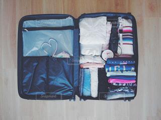女子旅に向けて荷造りをしたスーツケースです♡ - No.1120558