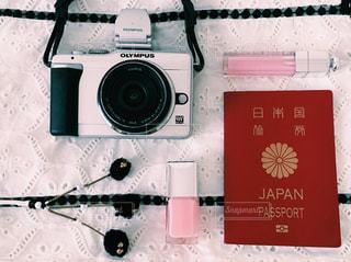 旅行前の準備といえばまずはパスポートの写真・画像素材[1132773]