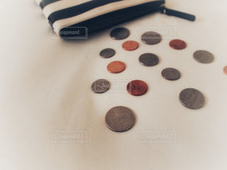 お金 アメリカのコインの写真・画像素材[1133273]