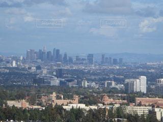 ダウンタウン ロサンゼルス 高層ビル 群の写真・画像素材[1142998]