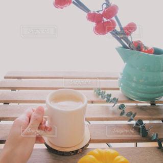 コーヒーの日 秋 パンプキン ツリー 秋の写真・画像素材[1500963]