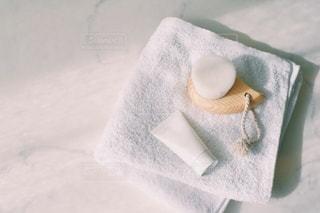 タオルのクローズアップの写真・画像素材[2952637]