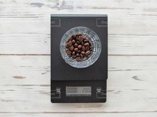 コーヒー豆 ドリップ スケールの写真・画像素材[3133667]