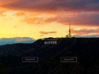 ハリウッドサインの写真・画像素材[1042315]