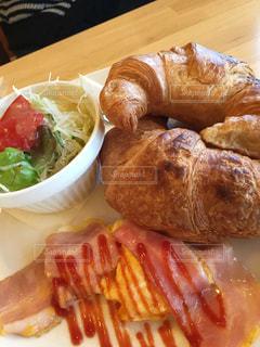 朝食の写真・画像素材[384444]