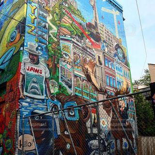 ストリートアートの写真・画像素材[1284329]