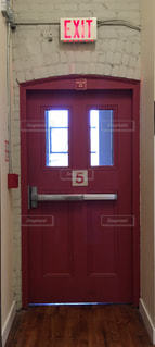 非常ドアの写真・画像素材[1288786]