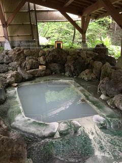 温泉の写真・画像素材[385915]