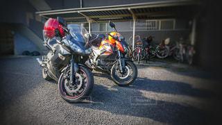 バイクの写真・画像素材[385923]