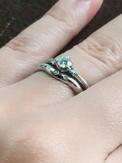 指輪の写真・画像素材[386088]