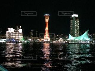 夜景の写真・画像素材[386111]
